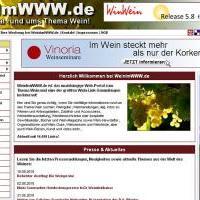 WeinimWWW.de - DIE Top Wein Linksammlung im Internet