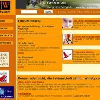 Winety.com - Weinportal mit Marktplatz, Forum und virtuellem Weinbuch