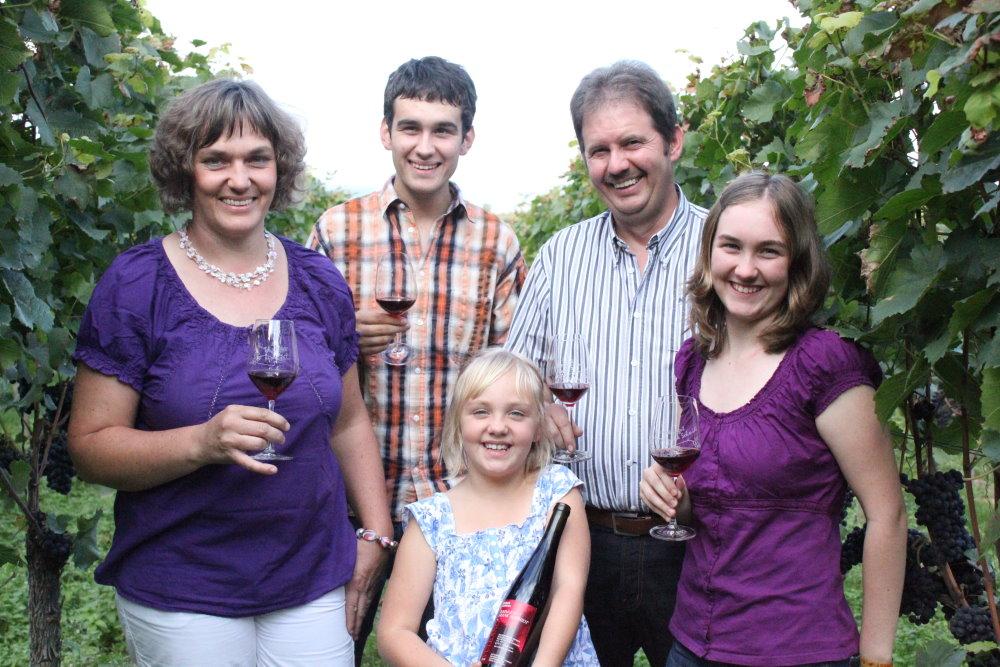 Winzerfamilie Schmidt