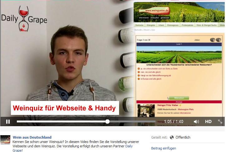 Das Kurzvideo zum Weinquiz