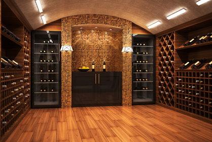 Moderner weinkeller  Weinkühlschränke nicht nur für den Sommeliere