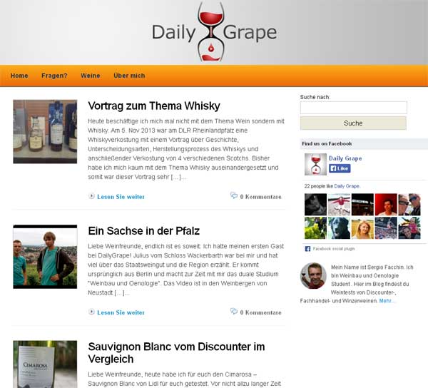 Daily Grape - Dein Wein Blog