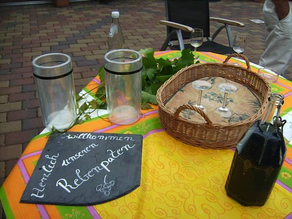 Herzlich Willkommen als Rebenpate auf unserem Weingut an der Mosel
