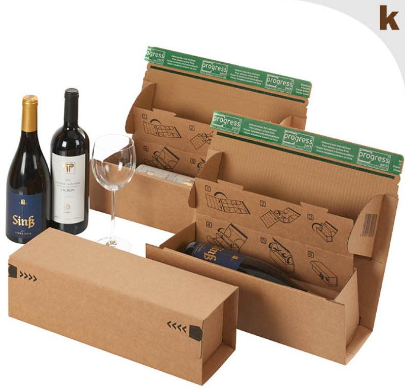 Weinflasche - Weinkarton